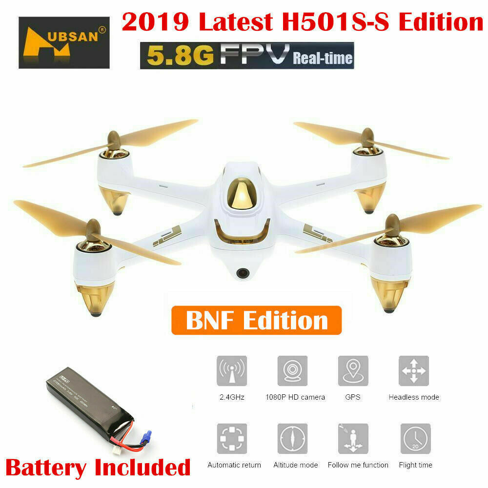 Hubsan H501S X4 RC Quadcopter W/ 5.8G FPV 1080P Camera Brushless One-Key Return