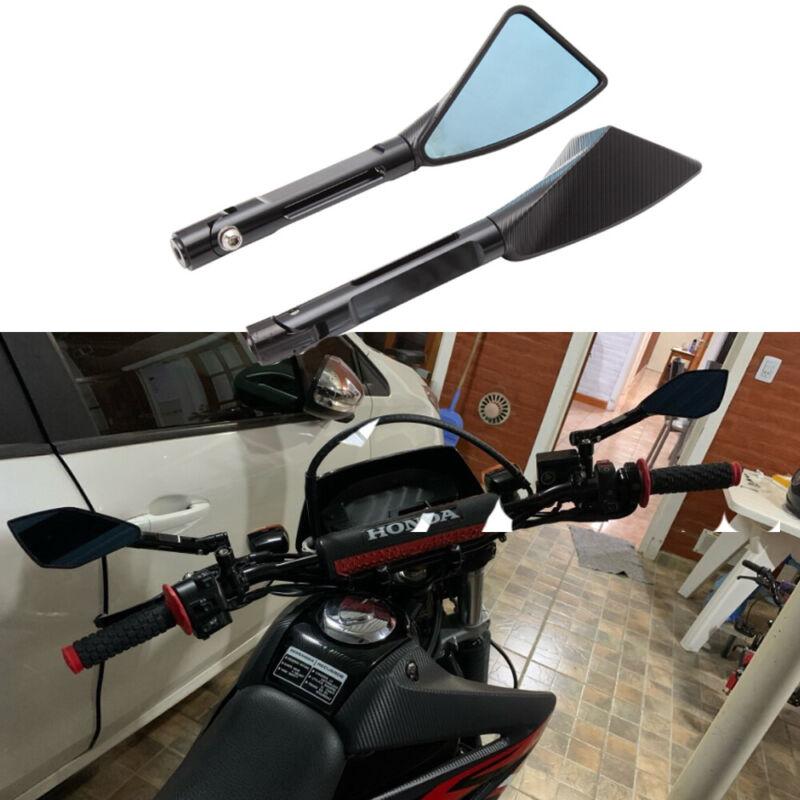 "Motorcycle TURN SIGNALS 1/"" HANDLEBAR HAND GRIPS For Honda Shadow//Valkyrie//Magna"