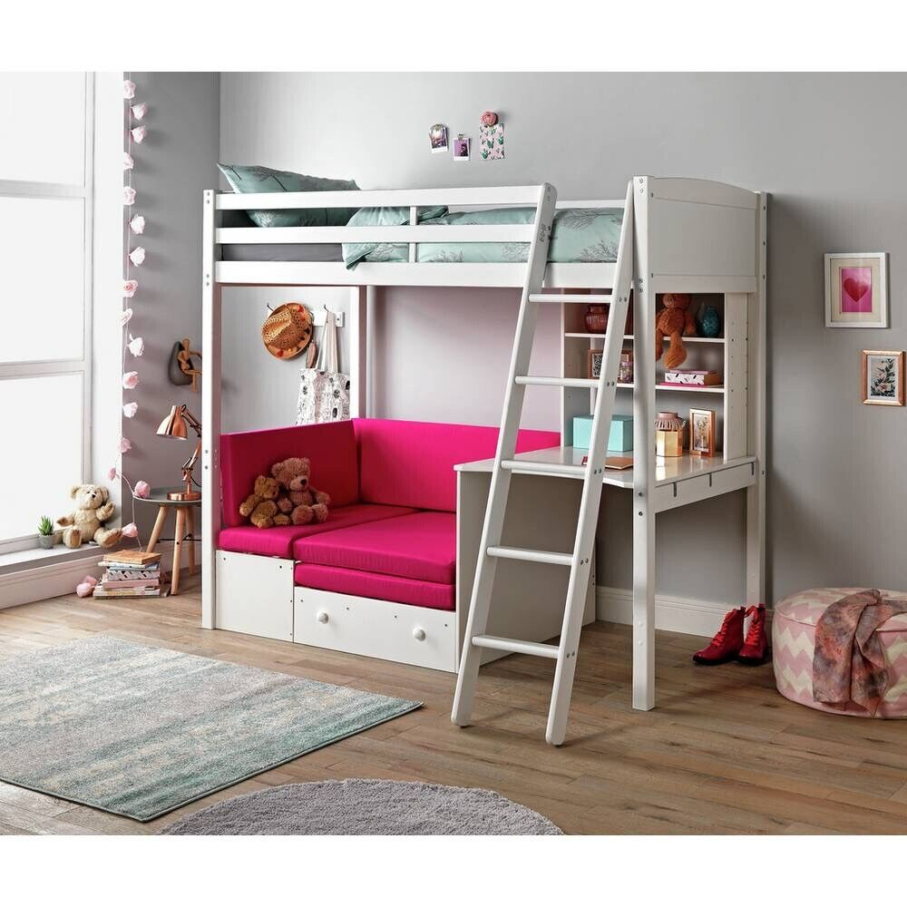 Astonishing Classic White High Sleeper Bed Fuchsia Sofa Bed Argos Home In Dinnington South Yorkshire Gumtree Forskolin Free Trial Chair Design Images Forskolin Free Trialorg