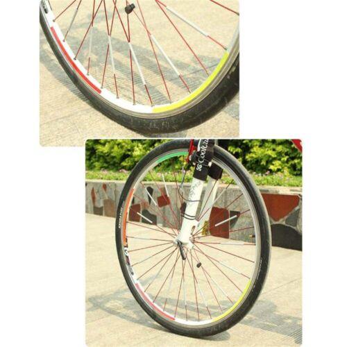 Speichenreflektoren 72 Stk für 1 Fahrrad 3M Reflexmaterial -DE