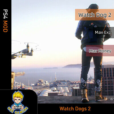 Watch Dogs 2 (PS4 Mod)-Max Exp/Money for sale  Shipping to Nigeria
