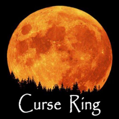 Black Death Curse Blood Ore Ring Ritual Kit Hex Banish Punish Justice Illness