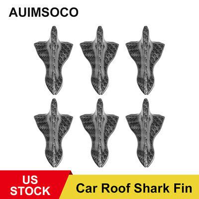 Car Parts - Car Parts Universal Carbon Fiber Sticker Accessories Roof Shark Fin Decorative