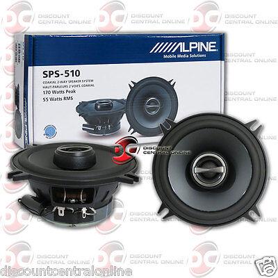 """SPS-510 5.25"""" 2-way Car Audio Speakers"""