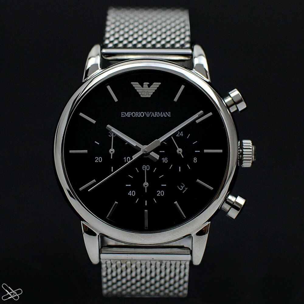 7a8289ff164e Herren Emporio Armani Armbanduhr Test Vergleich +++ Herren Emporio ...