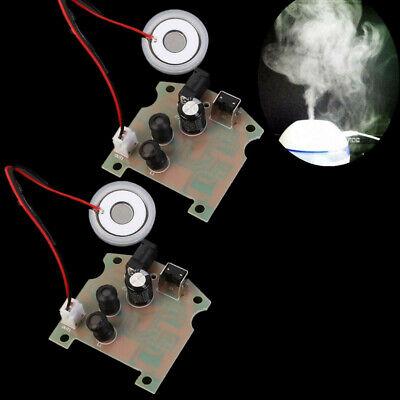 2pcs 113khz Ultrasonic Mist Maker Atomizing Fogger Ceramic Humidifier 3.7-12v