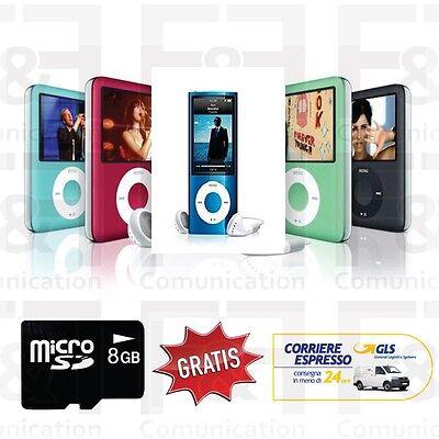 LETTORE MP3 MP4 RADIO DISPLAY MEMORIA 8 GB IN OMAGGIO CUFFIE