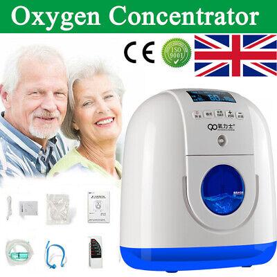 1-7L/min Portable Intelligent Home Medical Oxygen Concentrator Generator Machine