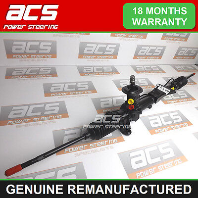 VW BORA POWER STEERING RACK 1.4 16V 1998 TO 2005 - GENUINE RECONDITIONED