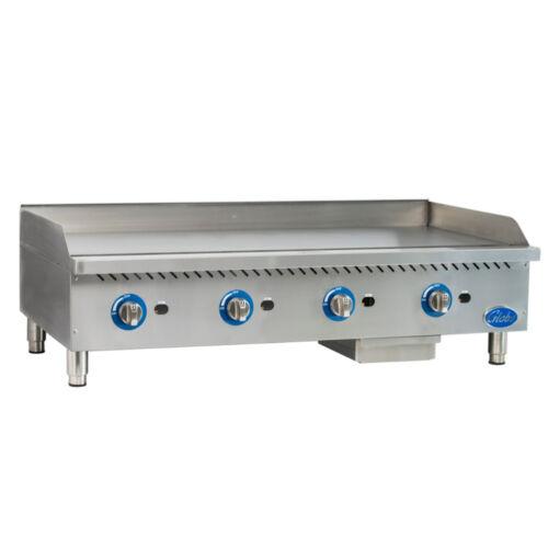Globe Gg48g Gas Countertop Griddle W/ Manual Controls