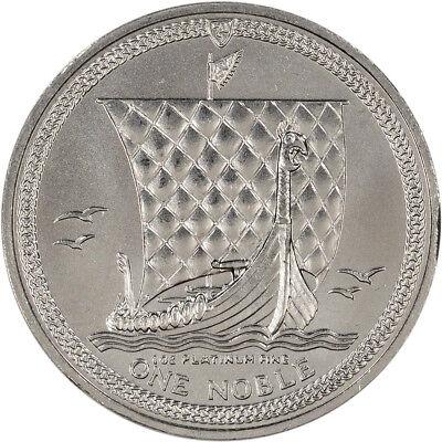 Isle of Man Platinum (1 oz)  Noble - BU - Random Date