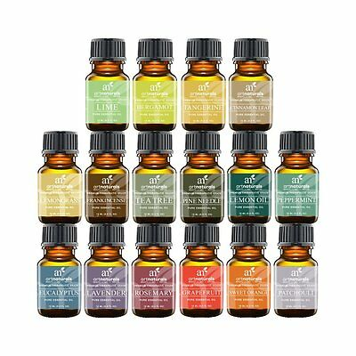 Essential Oils Set 16pc for Air Diffuser Aroma Therapy Humidifier Mist Vapor