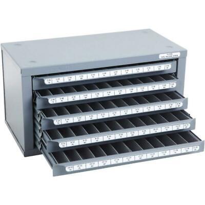 Huot Tool Storage 14 58 Inch Machine Screw Tap Dispenser Cabinet Steel 5 Drawer