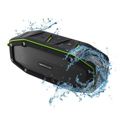 $29.95 - Rockville RPB27 20w Rugged Portable Waterproof Bluetooth Speaker w Bumping Bass!