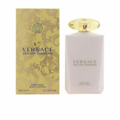 Versace Yellow Diamond Body Lotion for Women 200 ml 6.7 Oz