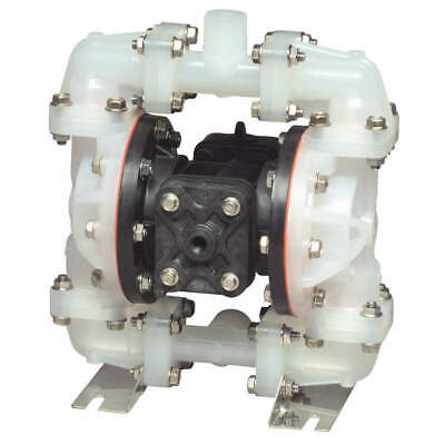Sandpiper S05b2pbtpni000 Double Diaphragm Pump Polypropylene Air Operated
