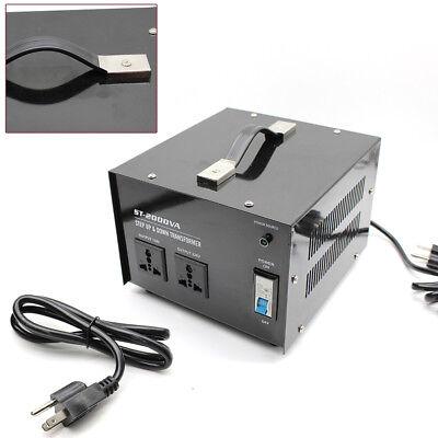1500Watt Voltage Converter 110 to 220 Volt Step Up Down Power Transformer (110 Volt To 220 Volt Step Up Transformer)