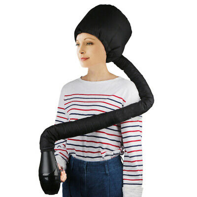 Portable Soft Hair Drying Salon Cap Hood Hat Blow Dryer Attachment Hair Bonnet