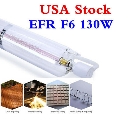 Us Stock Efr F6 130w Max 150w Co2 Laser Tube 1650mm For Laser Engraver 6000hrs