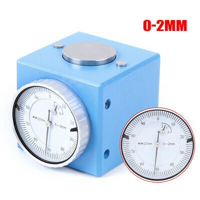 Magnetic Z Axis Dial Zero Pre Setter Tool Carbon Steel 0.01mm For Cnc Machine