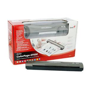 Genius ColorPage SF600 Mobiler Einzugsscanner 600x600 dpi optisch USB1.1 Neuware