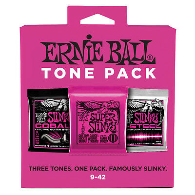 Ernie Ball Tone Pack Electric Guitar Strings Super Slinky Co