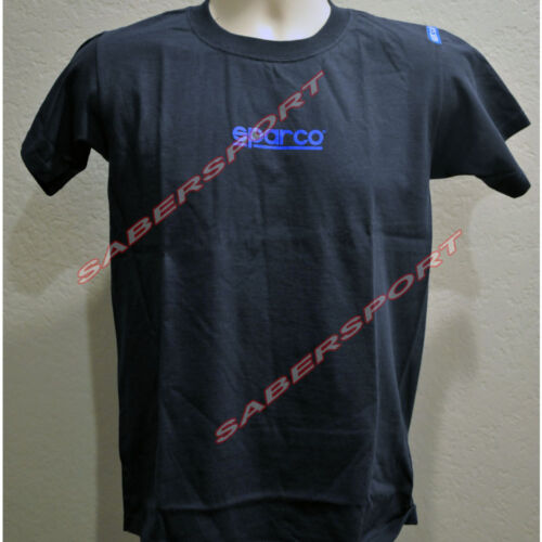 """IN STOCK"" AUTHENTIC SPARCO APPAREL ""PHANTOM"" T-SHIRT NAVY -SIZE- MEDIUM"