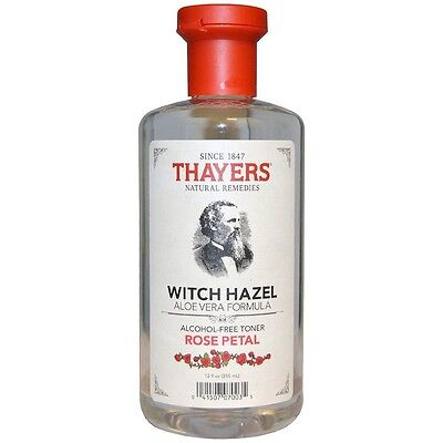 Thayers Alcohol-free Rose Petal Witch Hazel with Aloe Vera,