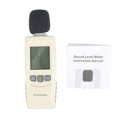 Digital Sound Pressure Tester Level Meter 30130db Decibel Noise Measurement New