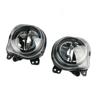 Pair LH RH LED Fog Lights Lamps Foglights For BMW 5 Series F10 GT F07 LCI 14-16