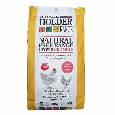 CHICKEN FOOD / FEED: Allen & Page Natural Free Range Layers Crumble 20kg (AP026)