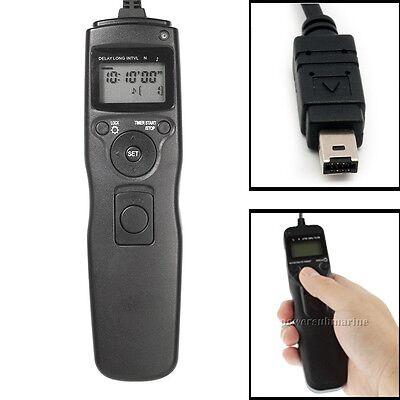 Time Lapse Intervalometer Remote Timer Shutter for Nikon D3100 D3200 D90 D600 UK