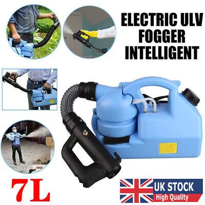 7L ULV Electric Fogger Fogging Disinfection Machine Sprayer Mosquito Killer UK
