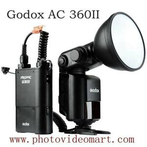 Godox AD360II-C/N WITSRO TTL Powerful & Portable Flash Kit with PB960 ( Free shipping )