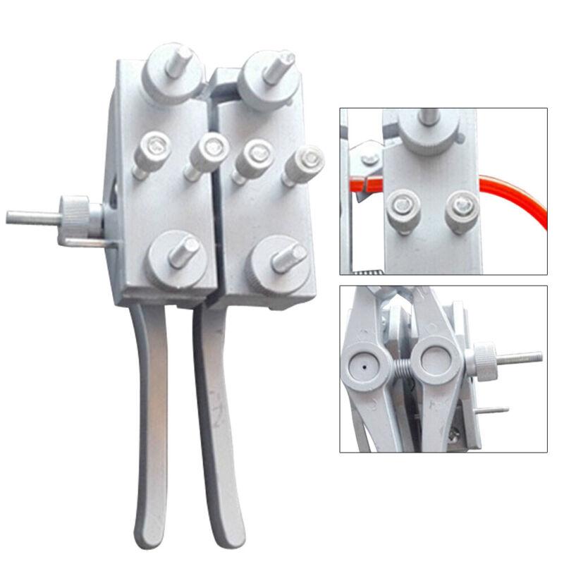 High Precision Connector Welding Clamp PU Round Belt Welder Aluminum Alloy USA