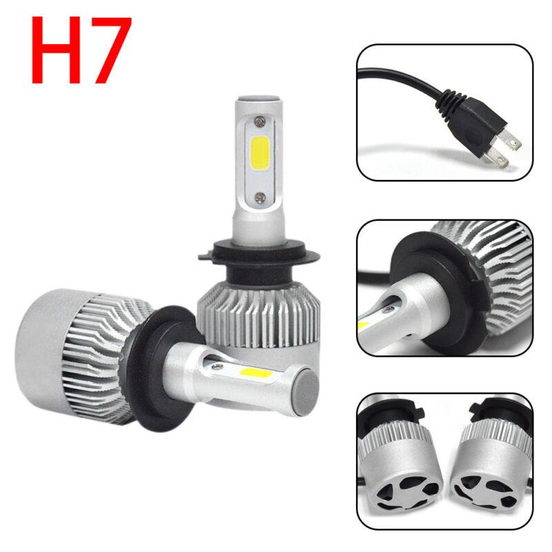 H7 COB LED Car Headlight Kit Single Hi/Lo Beam 6000K Head Fog Bulb 200W 20000LM