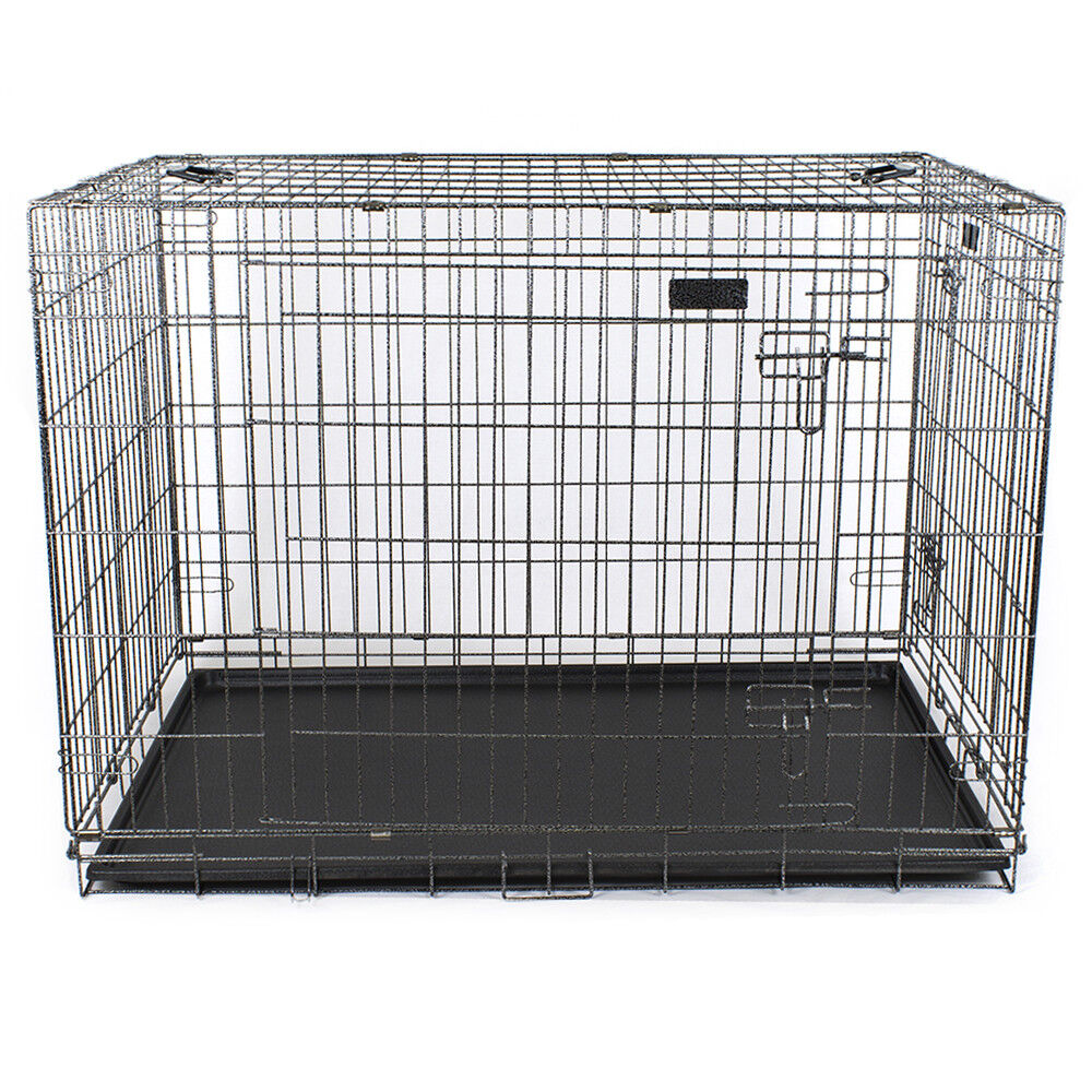 Gabbia pieghevole per cani box trasportino cani XXL 120x74,5x82h cm.