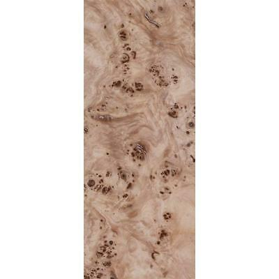 Exotic Mappa Burl Wood Veneer Rawunbacked 4 Pc Pack - 16 X 36 Total