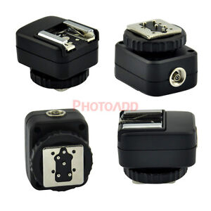 New-PC-SOCKET-Hot-Shoe-Adapter-Converter-FOR-Nikon-DSLR-SLR-TTL-Flash