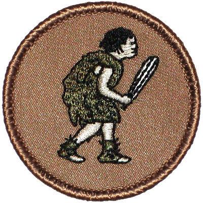 Cool Boy Scout Patches- Caveman Patrol! - Caveman Boy
