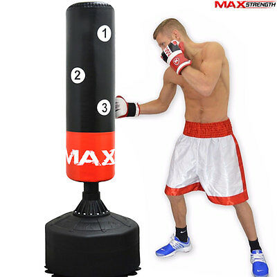 Super Heavy 6ft Free Standing Punch Bag Duty Boxing MMA Kick Stand Training