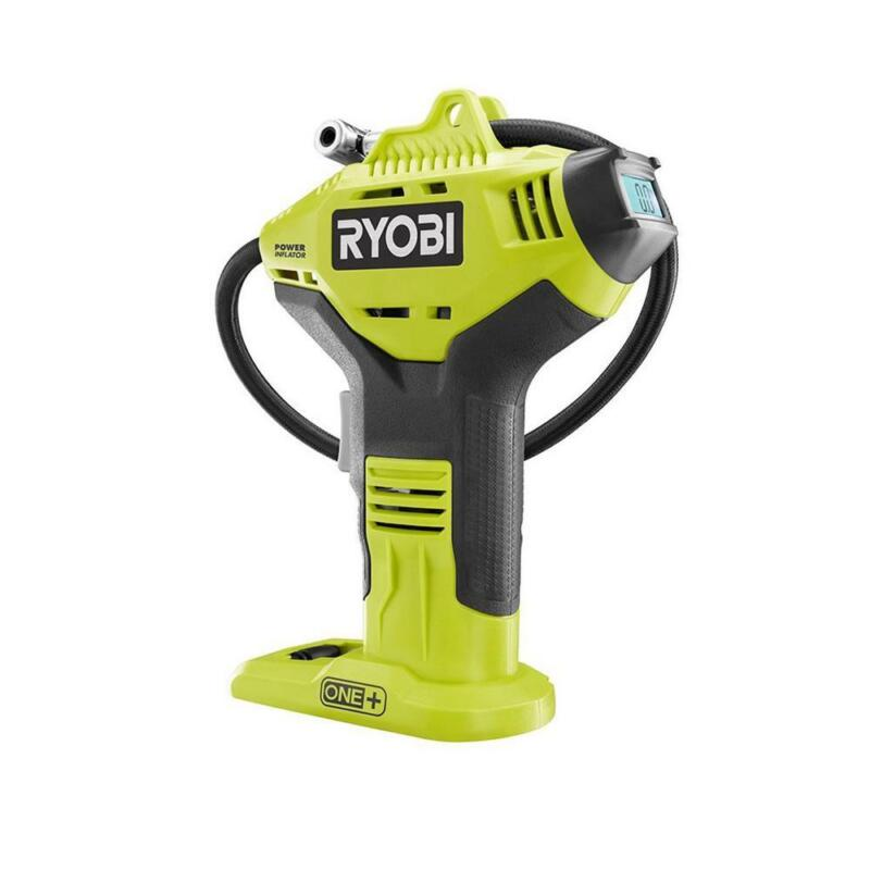 18-Volt One+ Lithium-Ion Cordless High Pressure Inflator Wit