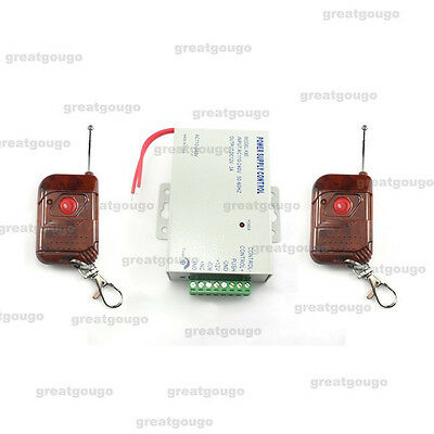 Door Access Controller Switching Power Supply Transformer & Remote Control 12V3A
