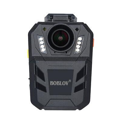 Wearable Police Security Camera GPS 1296P IR Motion Detectio