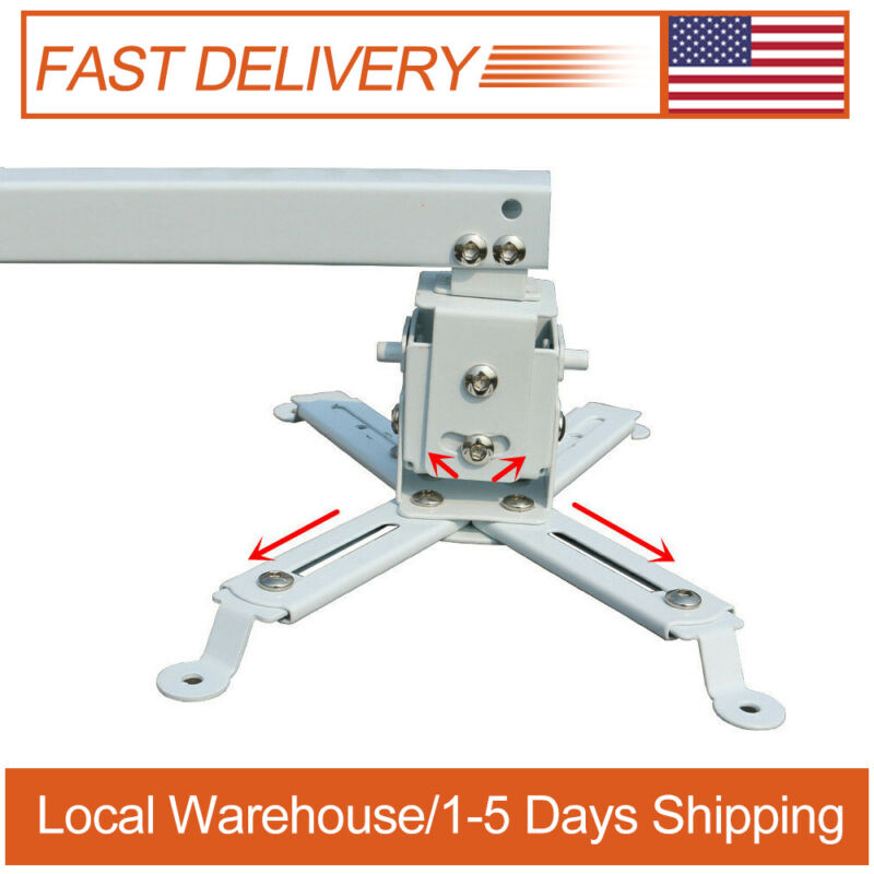 Universal Projector Bracket for Projector Wall/Ceiling Mount Stand US