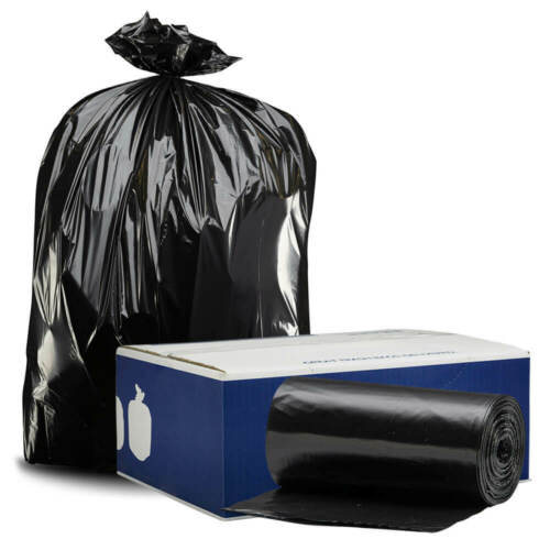 Plasticplace 95-96 Gallon Trash Bags - 1.2 mil thick - 50 bags on rolls