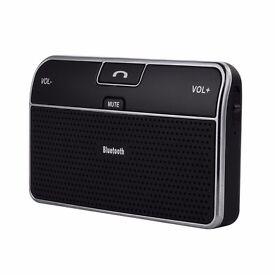 Wireless Bluetooth Visor In-Car Speakerphone / Hands Free Kit - BRAND NEW