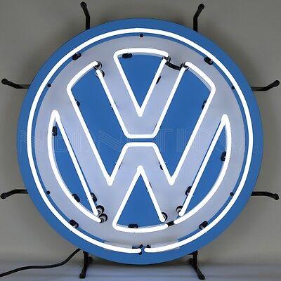Volkswagen VW Round Neon Sign 5VWSGN w/ FREE Shipping