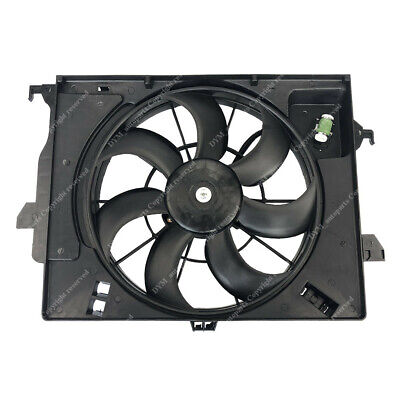 Radiator A/C AC Condenser Cooling Fan for Hyundai Accent Veloster Rio HY3115136