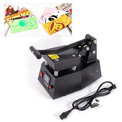 Digital Hat Cap Heat Press Machine Sublimation Transfer Diy Printer 4.7x4.7